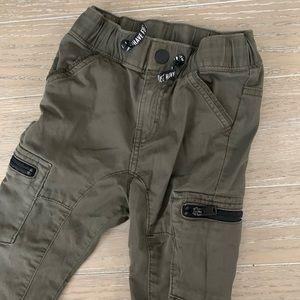 Boys H&M green Jogger Style pants